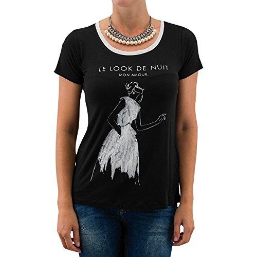 Broadway Femme Hauts / T-Shirt Bao 2 in 1 Noir