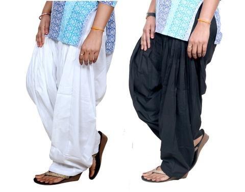 ROOLIUMS ® (Brand Factory Outlet) Punjabi Patiala Salwar Pack -2 Free size...