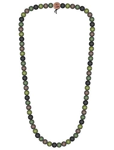Wood Fellas Unisex Deluxe Holz-Perlenkette camo 12mm -