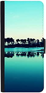 Snoogg Visit Goa Evenings Designer Protective Phone Flip Case Cover For Intex Eco 102E