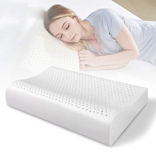 COOYT-ZT Almohada de látex, Almohada for Dormir, Almohada ergonómica de Espuma con Memoria, Ultra...