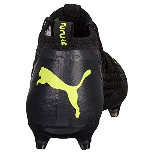 Futuras 18 Netfit Zapatos 2 Negro Amarillo Fg Ag Asfalto Con Puma Hombres Gas qHHrftR