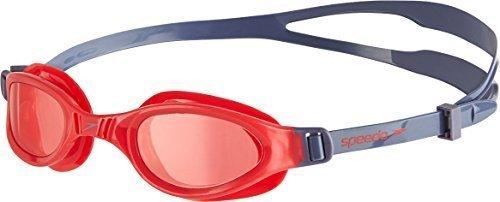 Only Sports Gear Speedo Junior Futura Plus Goggles Grey/red
