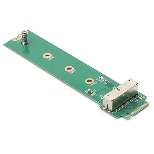 PCIe SSD auf m.2NGFF M Schlüssel Adapter Karte für 2013201420152016MacBook Air Pro Retina, Festplatte Konverter NGFF m2, unterstützt Modell A1398A1465A1466A1502