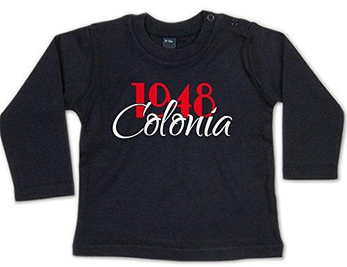 G-graphics 1948 Colonia Baby Sweatshirt 268.0260 (3-6 Monate, schwarz)