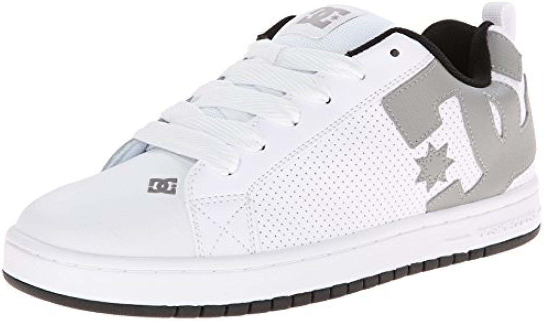 DC COURT GRAFFIK M Herren Sneakers  Weiß WHITE/WHITE/CARBON  55 EU