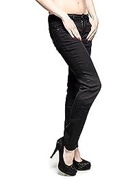 Blue Banana White Skelly Hand Skinny-Fit Stretch Jeans (Black/White)