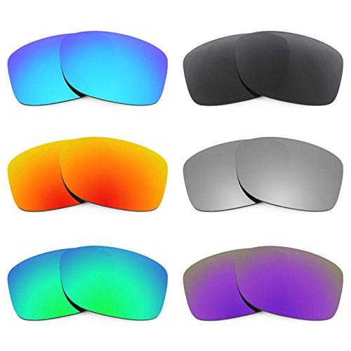 Revant Ersatzlinsen für Oakley Jupiter Squared Polarisiert 6 Paar Kombipack K024
