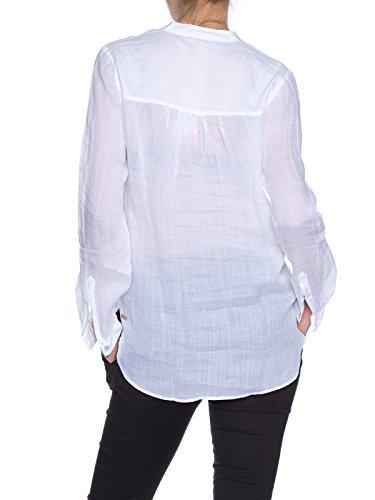 BOSS oRANGE efive_3 50283410 chemisier pour femme Blanc - blanc