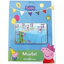 Peppa Pig - Mantel de plástico, 120 x 180 cm (Verbetena 5652212)