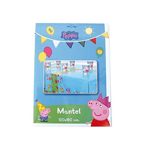 Peppa Pig - Mantel plástico, 120x180 cm (Verbetena 016000724)