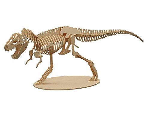 FS Maquetas Dinosaurio T-Rex de Madera, 72 Piezas (8020)