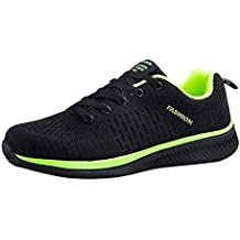 Zapatillas Deporte Hombre Zapatos para Correr Athletic Cordones Air Cushion Running Zapatos Casuales con Cordones Transpirables