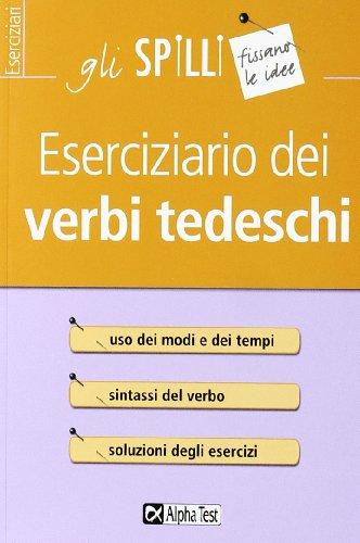 Eserciziario dei verbi tedeschi