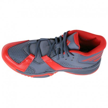 FIRST STEP GRI - Chaussures Basketball Homme Adidas Gris