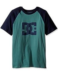 DC Shoes Men's Star Raglan SS T Shirt Green Blue XL