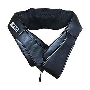 Mrzyzy Rücken Nackenmassagegerät Schulter Massage Elektro Mit Wärme Und Timing Funktion Deep Tissue Staubtuch Schützen Für Office Home Car Verwendung