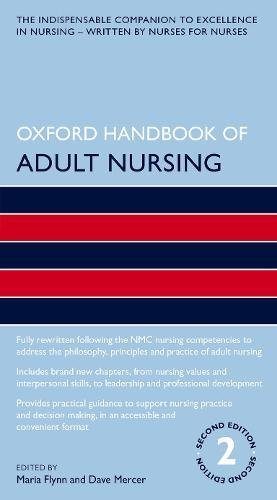 Oxford Handbook of Adult Nursing (Oxford Handbooks in Nursing) (Oxford Mercer)