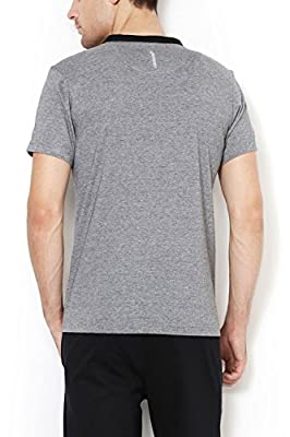 Van Heusen Men's Henley Neck Cotton T-Shirt