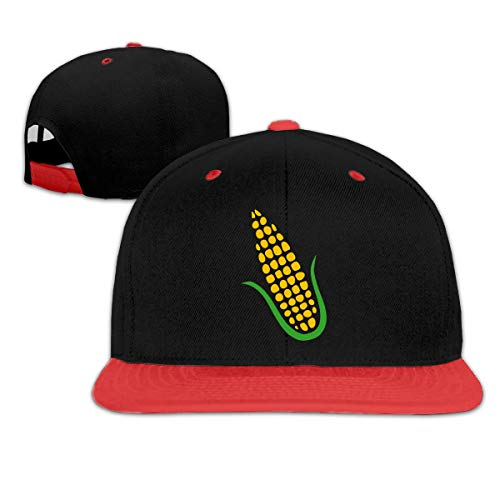 Yellow Corn On The Cob Boy and Girl Hip Hop Baseball Hats -