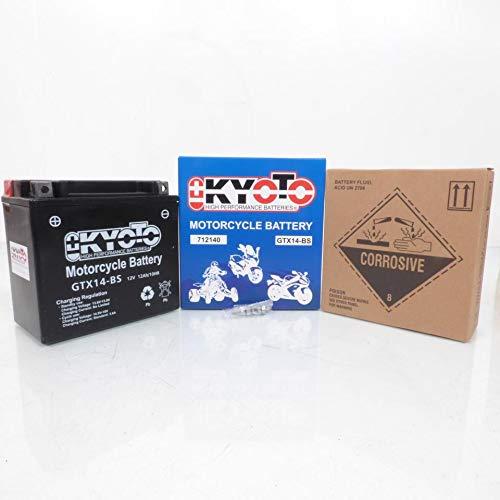 Batteria Kyoto Moto Honda 1000 Xl V Varadero 1999-2002 YTX14-BS / 12 V 12 Ah