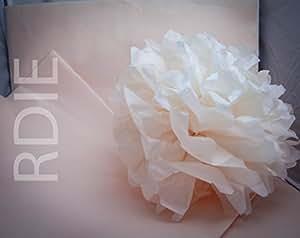 24 feuilles de papier de soie Champagne, 50x75cm, 18 grs