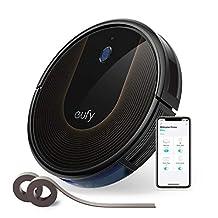 eufy by Anker robotstofzuiger RoboVac 30C, WiFi-stofzuigerrobot met BoostIQ, hoge reinigingsprestaties met een sterke zuigkracht van 1500 Pa, ideaal voor eigenaren van huisdieren, reinigt haren van huisdieren, harde vloeren, tapijten