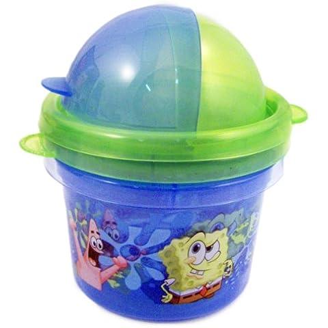 Spongebob 2pk Snack Storage Containers Zak Paks by Spongebob
