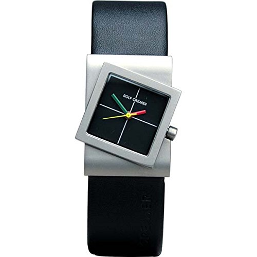 Rolf Cremer Turn 491817 Unisex Armbanduhr Schwarz