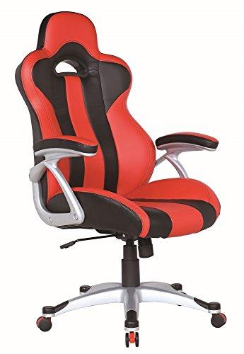 waytex-78115-vesta-fauteuil-de-bureau-siege-baquet-faux-cuir-rouge-79-x-65-x-32-cm