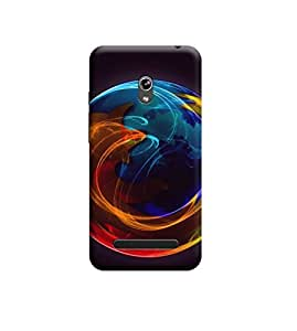 Kratos Premium Back Cover For Asus Zenfone 5