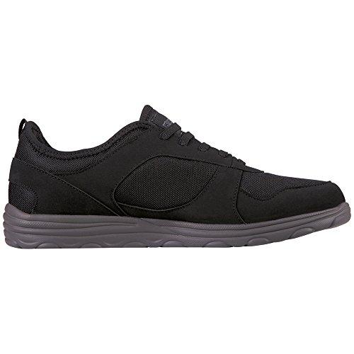 Kappa Herren Kato Sneaker Schwarz (Black/Grey)