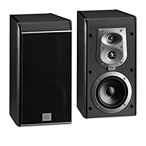 JBL ES20 High-Performance 3-Way Bookshelf Speakers (Black Pair)