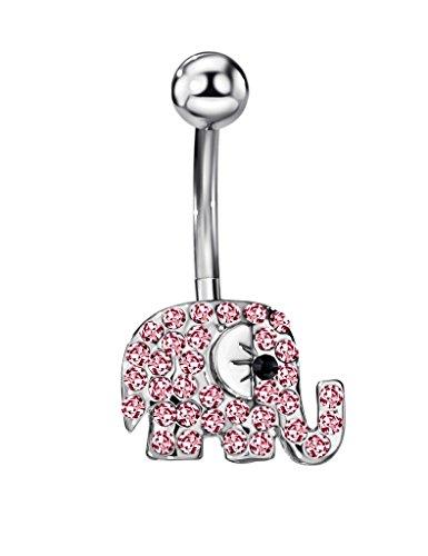 FANSING Gioielli Donne lei Corpo Piercing Elefante Barbells