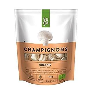 Auga Marinated Whole Organic Champignons 250g (Pack of 6)