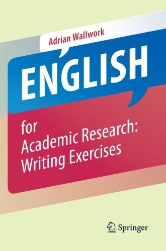 Portada del libro English for Academic Research: Writing Exercises by Adrian Wallwork (2012-10-14)