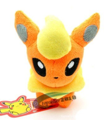 Pokemon Flareon Plush Soft Toy 11cm High New Arrival