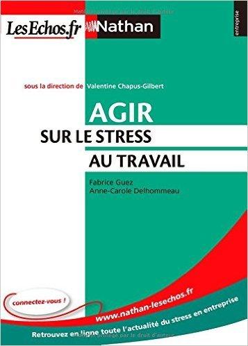 Agir Sur le Stress au Travail (Nathan/les Echos) de Valentine Chapus-Gilbert,Anne-Carole Delhommeau,Fabrice Guez ( 22 janvier 2009 )