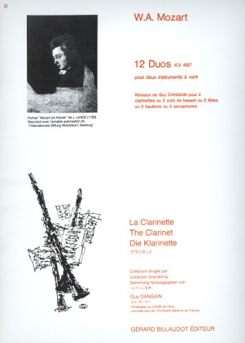 MOZART - Duos (K.487) para 2 Clarinetes ...