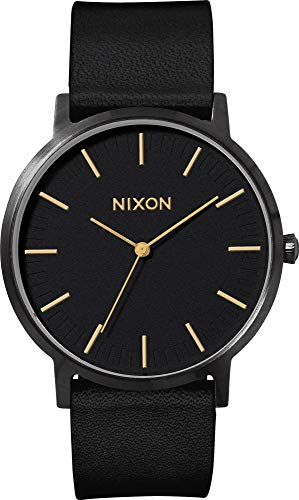 Nixon Montre Mixte Adulte Digitale Quartz avec Bracelet en Cuir – A1058-1031-00