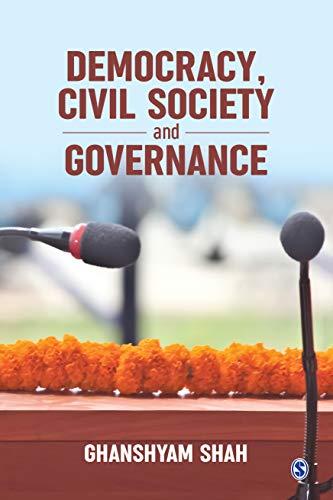 Democracy, Civil Society and Governance