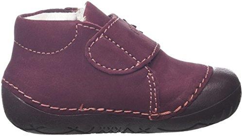 Primigi Spot 3-E, Chaussures Bébé Fille Rouge Bordeaux