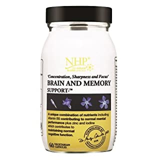 NHP Brain and Memory Support Capsules - Pack of 60