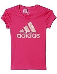 adidas YG W Logo Tee - Camiseta para niñas