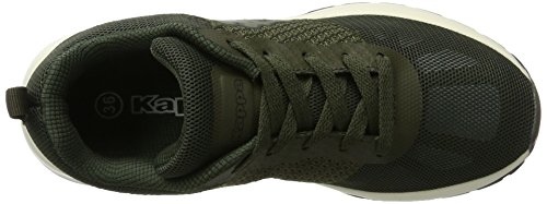 Kappa Fence, Sneakers Basses Mixte Adulte Vert (3111 Army/black)