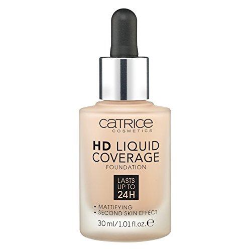 Catrice Make-up HD Liquid Coverage Foundation Rose Beige 20 1er Pack(1 x 150 grams) - Beige Flüssig-foundation