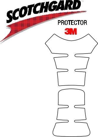 3M Lackschutz Folie Tankschutz-Set für Motorrad Nr.5 transparent (130x250mm)