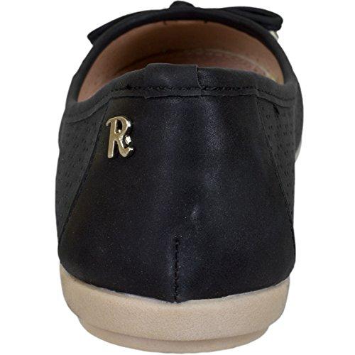 Refresh Women Slipper Ballerinas 63303 Black