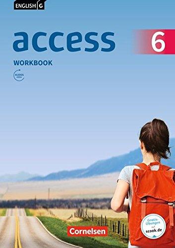 English G Access - Allgemeine Ausgabe: Band 6: 10. Schuljahr - Workbook mit Audios online