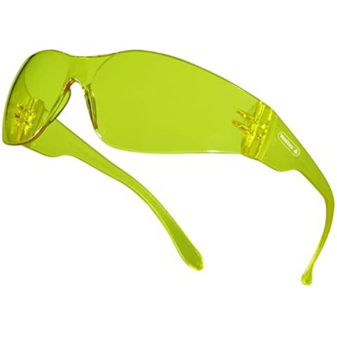 Venitex Brava Safety Glasses Specs Ideal For Cycling MTB - Yellow by Venitex